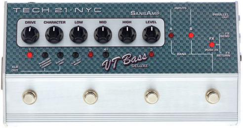 Tech 21 SansAmp Character VT Bass Deluxe