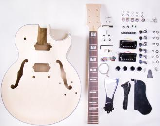 TheFretWire DIY Electric Guitar Kit 175 - Jazz Style