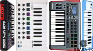The Highest Rated 25-Key MIDI Controller Keyboards
