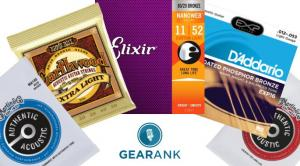 The Highest Rated Acoustic Guitar Strings