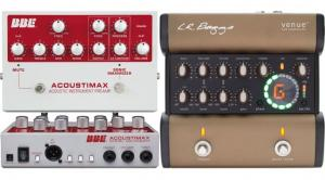 Acoustic guitar preamps