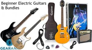 Beginner Electric Guitars & Guitar Bundle Packages with Guitar Amps