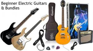 Beginner Electric Guitars and Bundles
