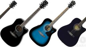 Budget Acoustic Electric Guitars