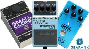 The Highest Rated Chorus Pedals
