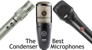 The Best Condenser Mics - $100 to $1000