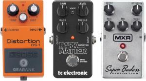 The Highest Rated Distortion Pedals Under $100