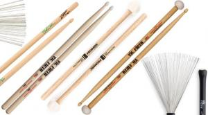 Drum Sticks, Mallets and Brushes
