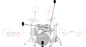 Drum Miking Techniques:  How to Mic Drums for Recording