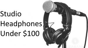 Studio Headphones Under $100