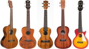 Acoustic-Electric Ukuleles