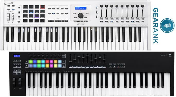 The Highest Rated 61-Key MIDI Controller Keyboards