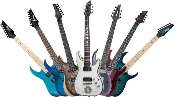 The Best 7 String Guitars 200 To 2000 Gearank
