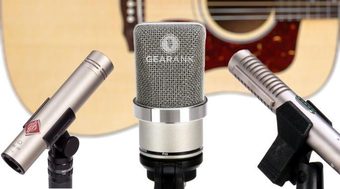 The Highest Rated Acoustic Guitar Mics