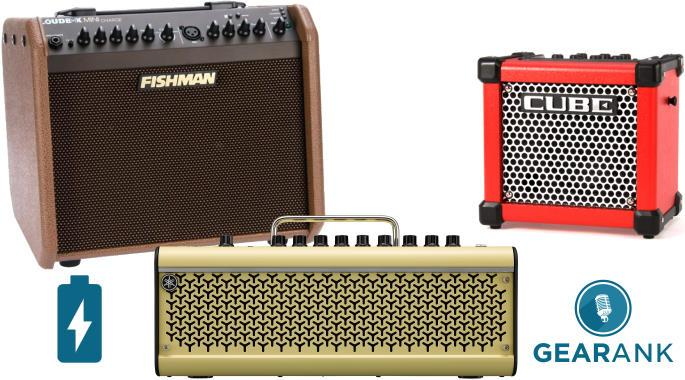 The Highest Rated Battery Powered Guitar Amps