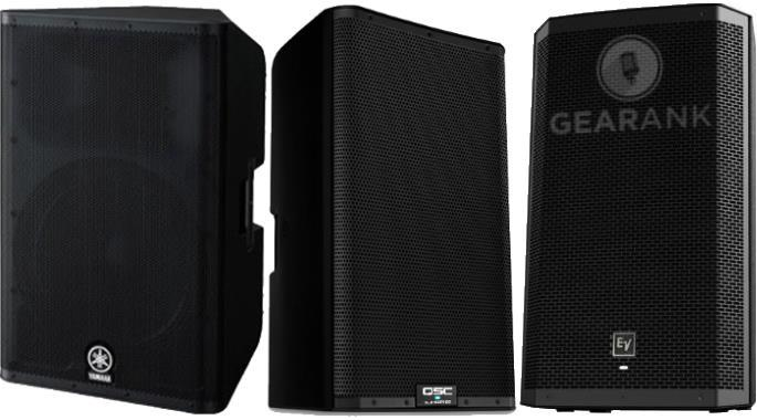 The Highest Rated Powered PA Speakers