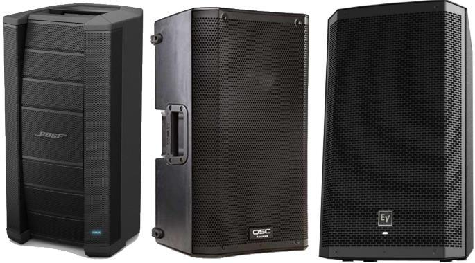 the top 10 best powered pa speakers gearank. Black Bedroom Furniture Sets. Home Design Ideas