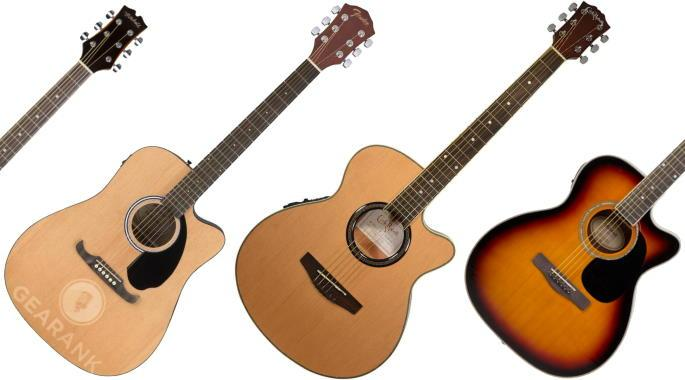 The Highest Rated Acoustic-Electric Guitars Under $200