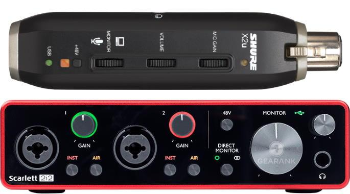 The Highest Rated Audio Interfaces Under $200