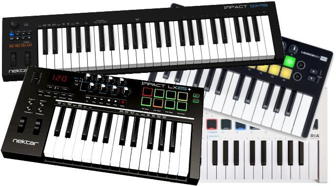 The Best Cheap MIDI Keyboards Under $100 - Sep 2018 | Gearank