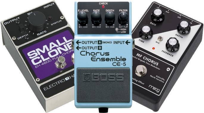 The Best Chorus Pedals - All Price Ranges | Gearank