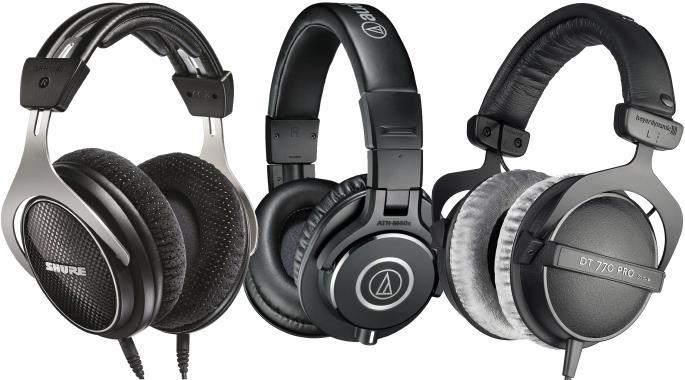 The Best Headphones for Recording / Tracking - Closed Back