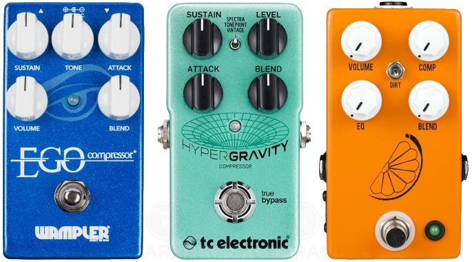 The Best Guitar Compressor Pedals