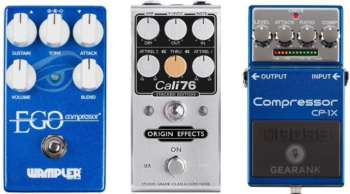The Highest Rated Compressor Pedals