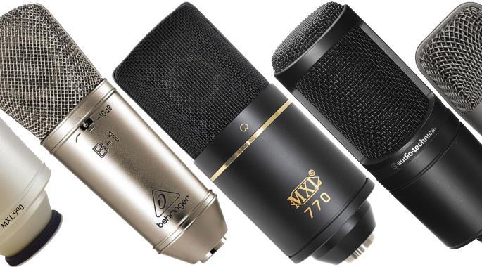 The Best Condenser Mics Under $100 - XLR & USB - 2018 | Gearank