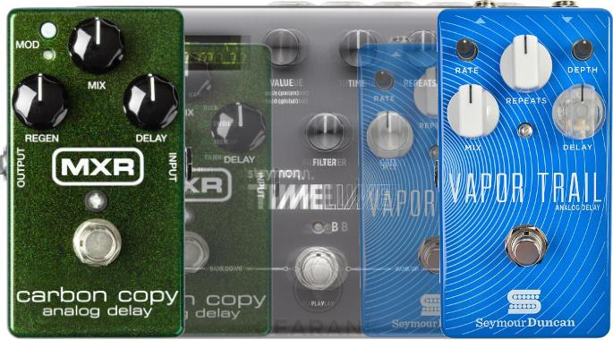 The Highest Rated Delay Pedals