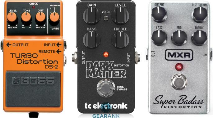 The Highest Rated Cheap Distortion Pedals