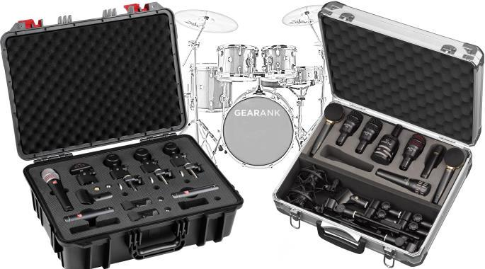 The Highest Rated Drum Mic Kits