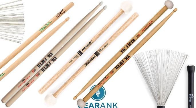 The Highest Rated Drum Sticks