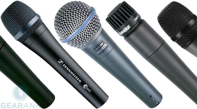 the best dynamic microphones over 30 000 ratings gearank. Black Bedroom Furniture Sets. Home Design Ideas
