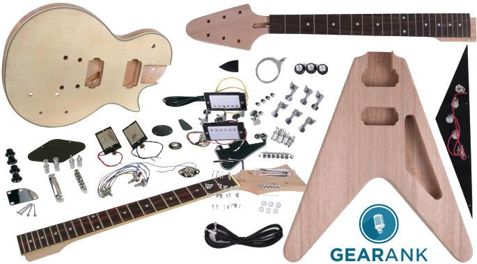 Check out our guide to The Best DIY Guitar Kits