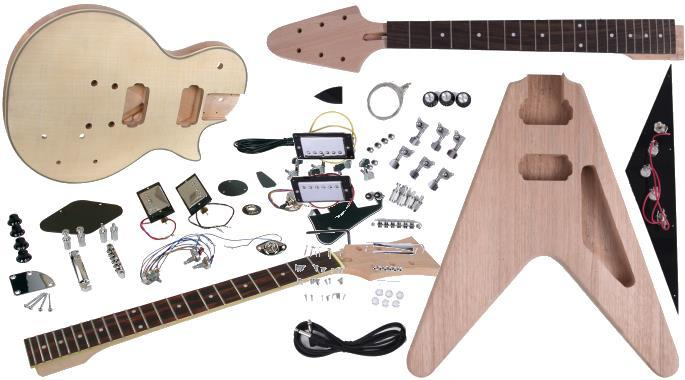 electric guitar kits