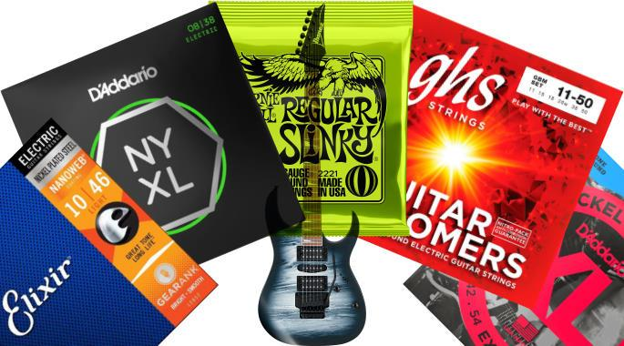 The Highest Rated Electric Guitar Strings