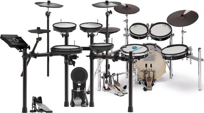 The Highest Rated Electronic Drum Sets