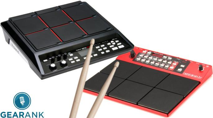 The Highest Rated Electronic Drum Pads