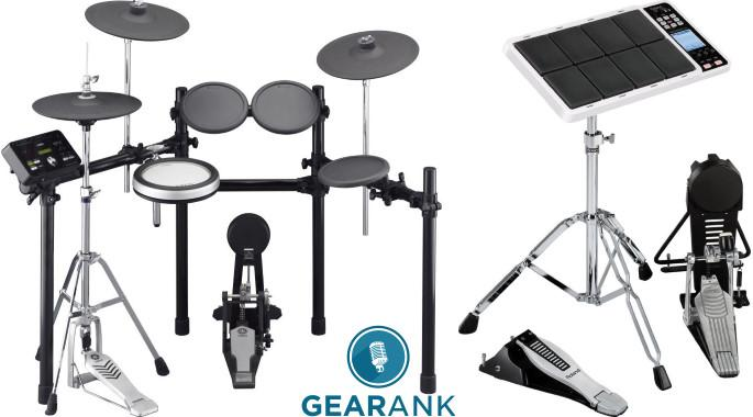 The Highest Rated Electronic Drums Under $1000