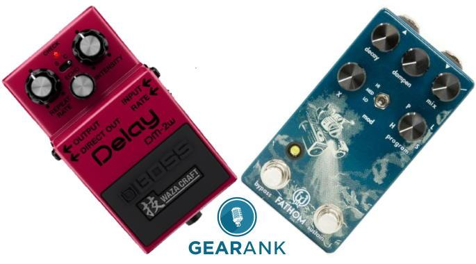 Reverb vs Delay Pedals