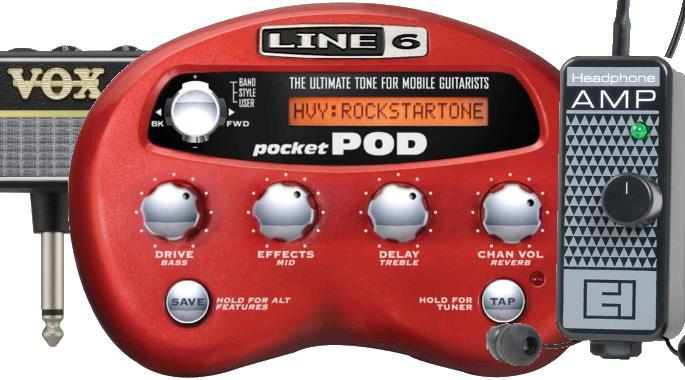 Guitar Headphone Amplifiers