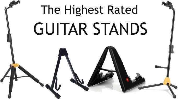 The Best Guitar Stands - Acoustic, Electric & Bass | Gearank
