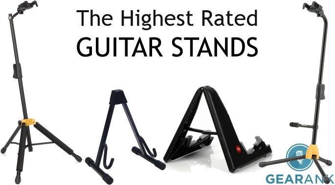 The Highest Rated Guitar Stands