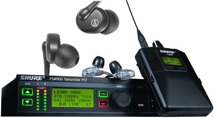 The Best In Ear Monitors for Musicians - Wireless FCC