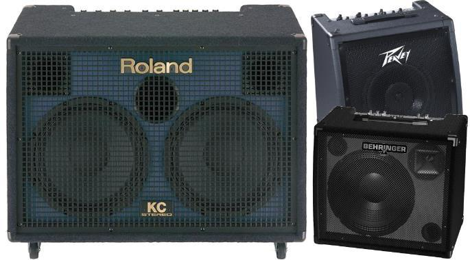 Keyboard amplifiers