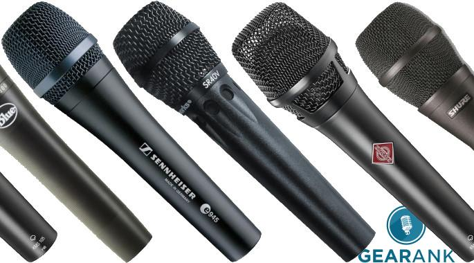 The Best Live Vocal Mics Handheld Wired 2020 Gearank