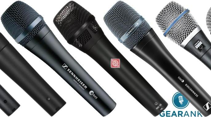 The Highest Rated Handheld Vocal Mics