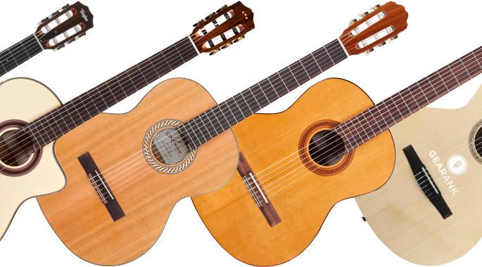 The Highest Rated Classical & Nylon String Guitars