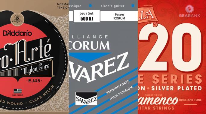 The Highest Rated Nylon Guitar Strings